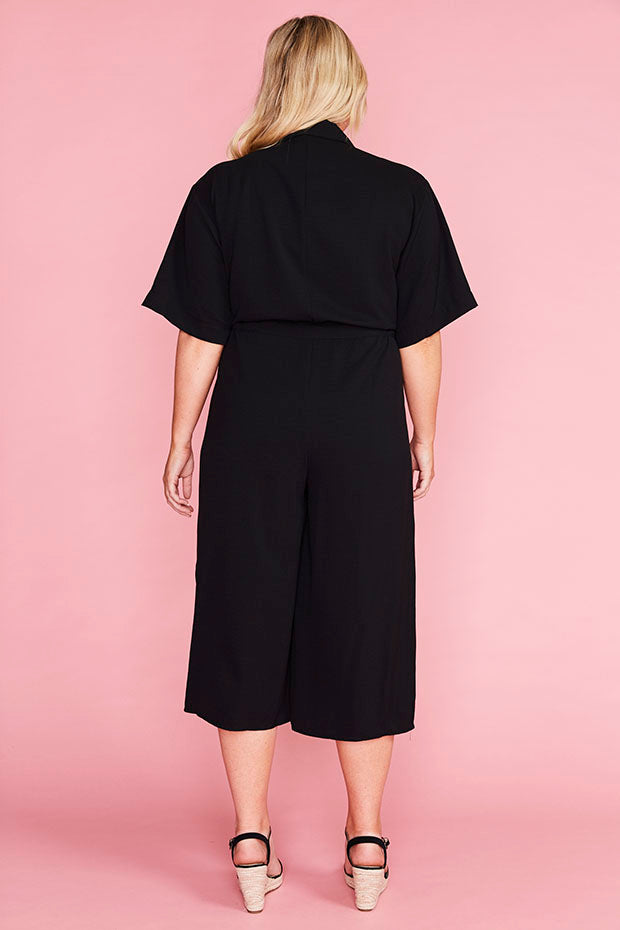 Lopez Black Jumpsuit