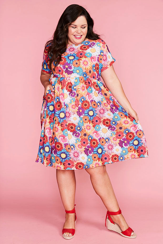 Bam Flower Power Dress