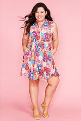 Nikki Flower Power Dress