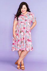 Frankie Donut Print Dress