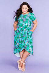 Soul Mate Xmas Baubles Mint Dress