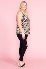 Eliza Animal Print Cami