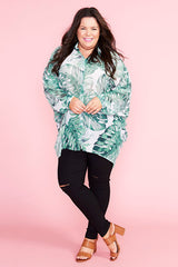 Bliss Palm Print Shirt