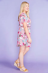 Gemma Donut Print Dress