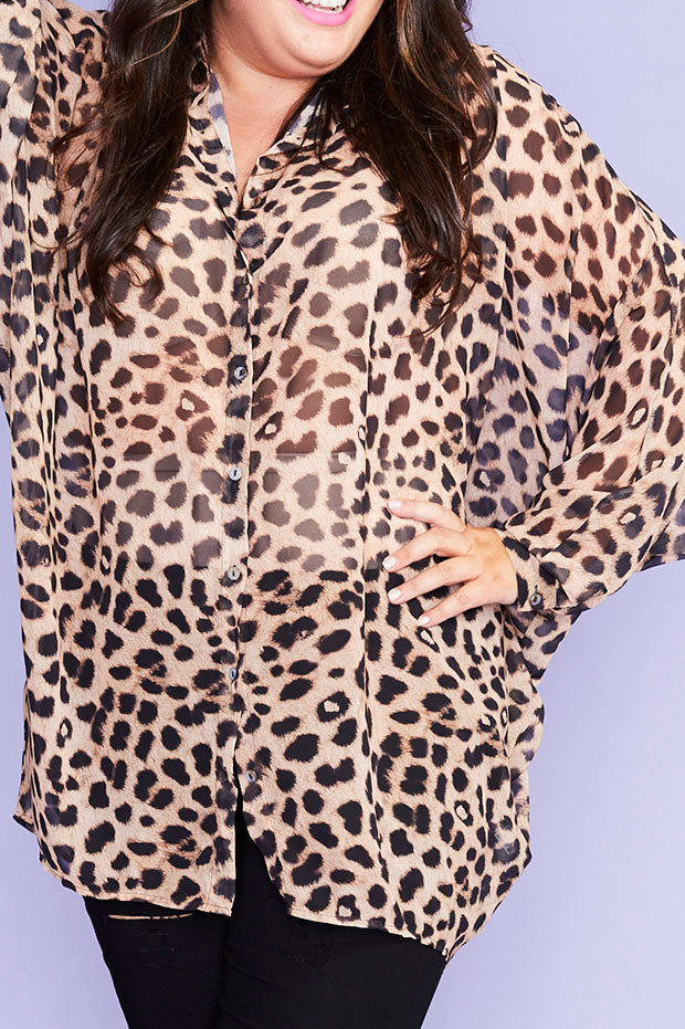 Bliss Leopard Print Shirt