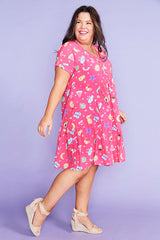 Charlotte Aussie Summer Pink Dress
