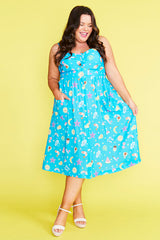 Eddie Aussie Summer Blue Dress