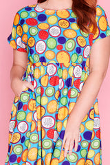 Bam Fruit Slice Dress