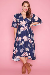 Mandy Autumn Leaves Dress