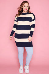 Docks Navy & Cream Knit