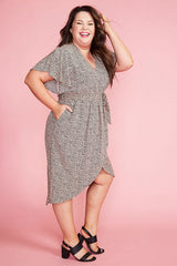 Brisbane Black Spots Dress