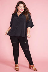 Cassie Black Shirt