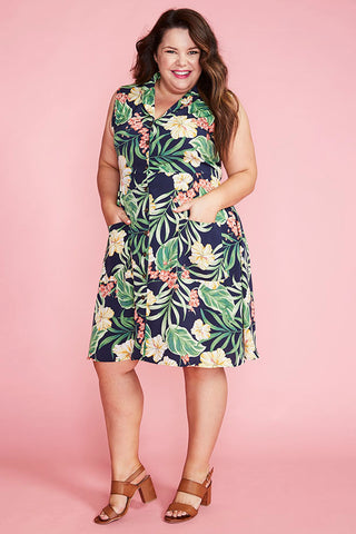 Sweetie Tropical Floral Dress