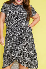 Soul Mate Black Spots Dress