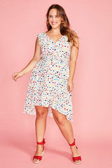 Josephine Confetti Print Dress