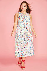 Leanne Confetti Print Dress