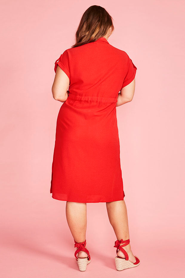 Carrie Red Dress