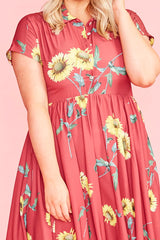 Frankie Sunflower Dress