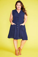 Sweetie Navy Dress