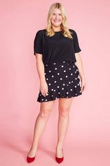 Pebbles Polka Dot Wrap Skirt