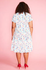 Charlotte Confetti Print Dress