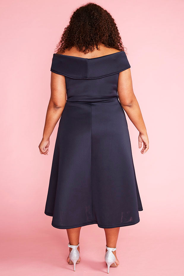 Honey Navy Dress