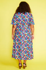 Marley Rainbow Leopard Dress