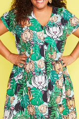 Charlotte Big Cats Dress