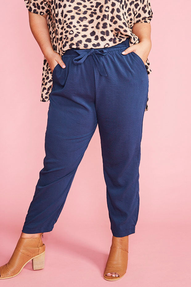 Ramond Navy Pants