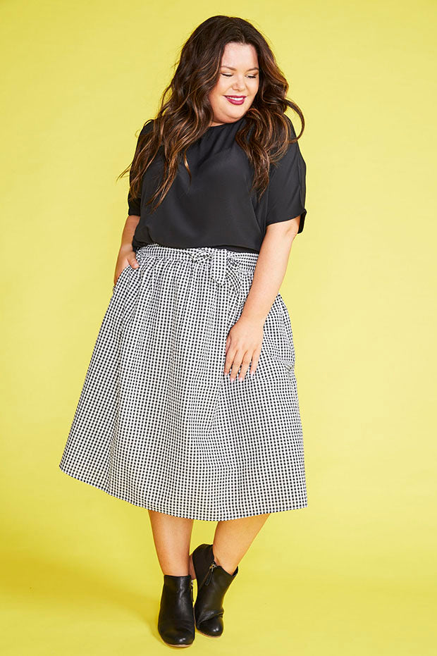 4761b316255 Country Charm Black Gingham Skirt – Little Party Dress