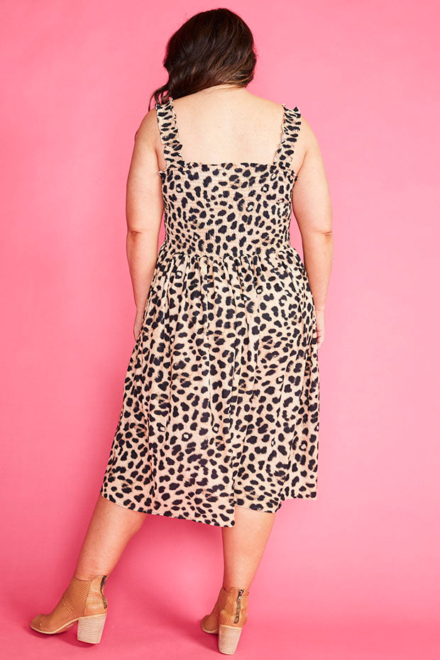 Wallflower Leopard Print Dress