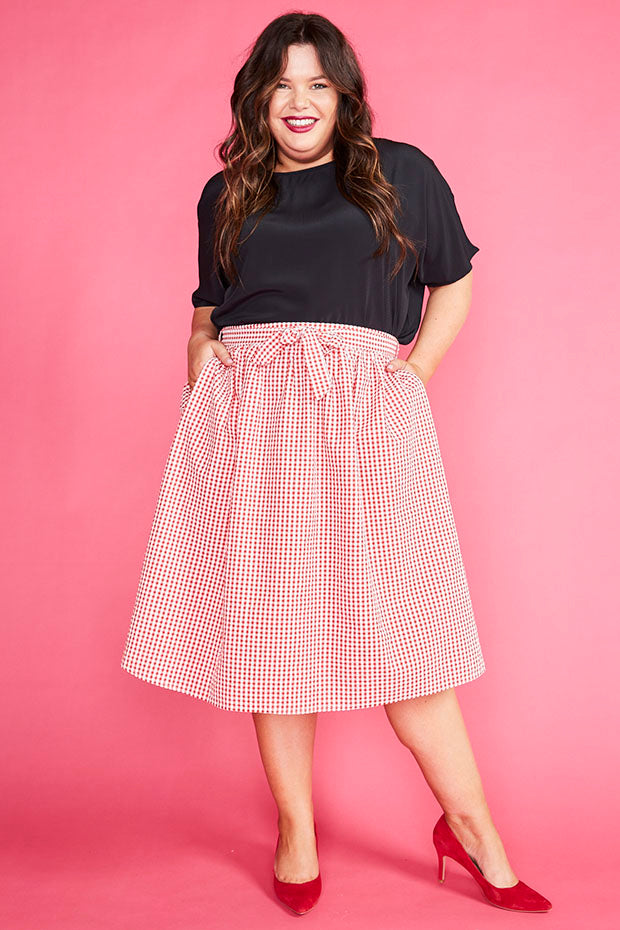 af9903f9ff4 Country Charm Red Gingham Skirt – Little Party Dress