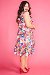 Josephine Flower Power Dress