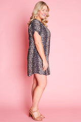 Wayward Leopard Print Dress
