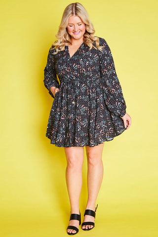 Hope Spotty Floral Dress
