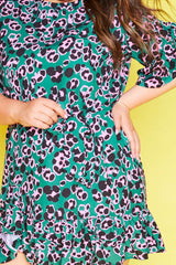 Ellie Green Leopard Dress