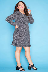Starlight Black Spots Dress