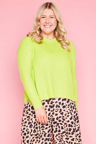 Fresh Lime Knit