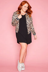Sutton Leopard Print Jacket