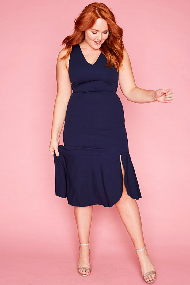 Date Night Navy Dress