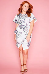 Drama Queen White Floral Dress