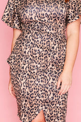 Drama Queen Leopard Print Dress