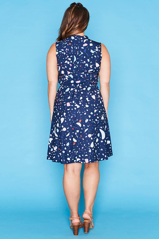 Oscar Inkblots Dress