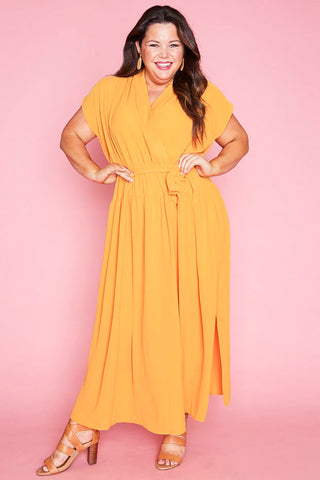 Miley Yellow Maxi Dress