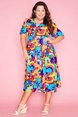 Marley Rainbow Robot Dress