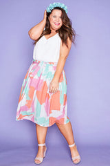 Ada Brushstroke Skirt