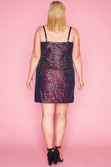 Dazzle Multi Sequin Dress