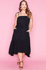 Isla Black Dress