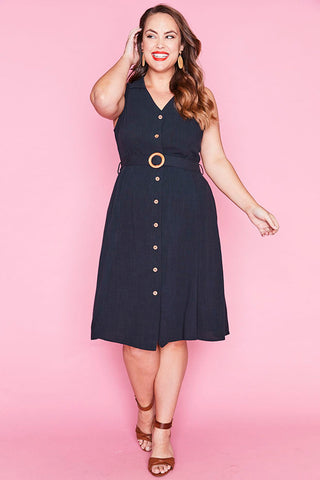 Connor Navy Dress