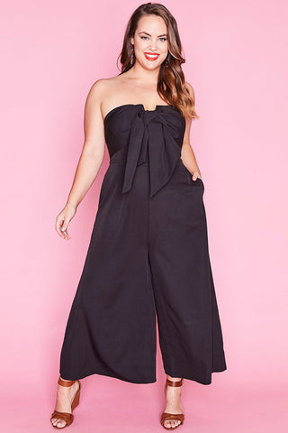 Astrid Black Jumpsuit